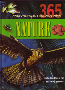 cover - 365 Awsome Facts and Records abut Nature